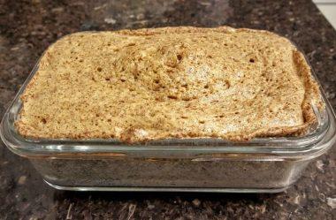 Recette de pain 10 minutes chrono -SANS FARINE- pour Maigrir Définitivement